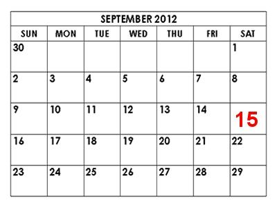 september -13