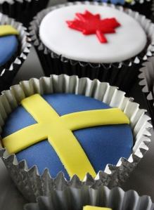 svensk-kanadensiska muffins